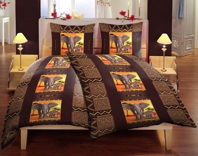 bettw sche elefanten afrika f r 14 95 euro. Black Bedroom Furniture Sets. Home Design Ideas