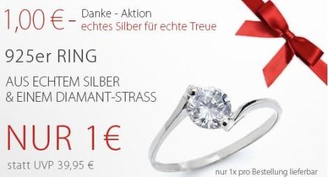 Ring für 1 Euro