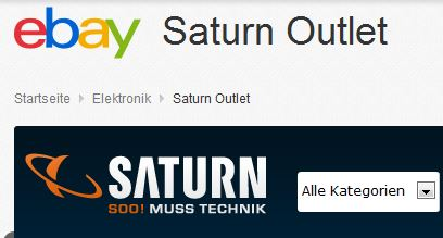 Saturn Outlet