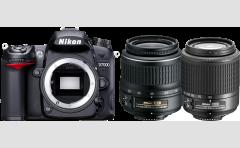 NIKON-D-7000-18-55-II-55-200-mm
