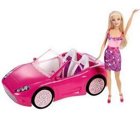 Barbie fährt