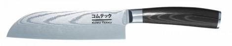 Komu-Tekku-Santoku-VG-10-Damastmesser_5