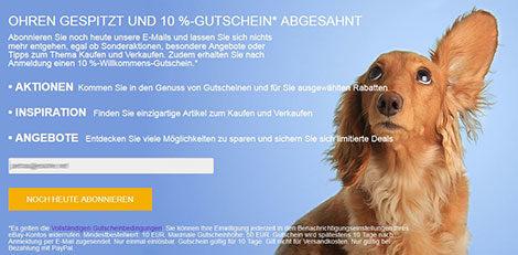 Gutschein-Ebay
