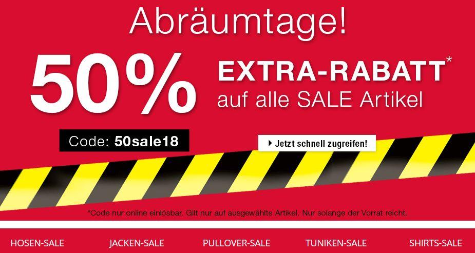 gut aussehen Schuhe verkaufen bester Verkauf Wert für Geld Ulla Popken: 50% Extra-Rabatt auf Sale | juppp.de